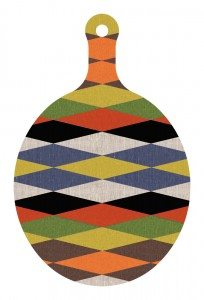 Harlequin Cutting Board