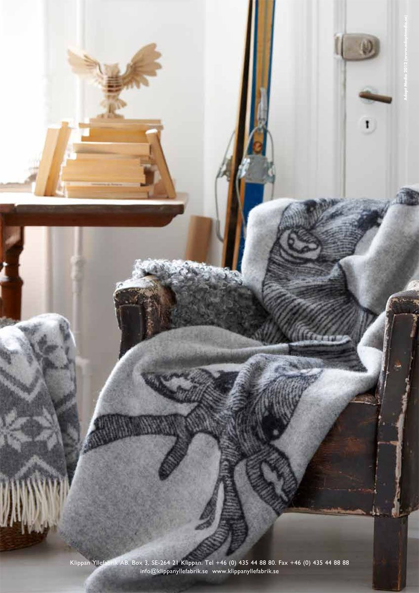 deer blanket emelie ek design
