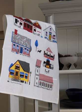 torekov tea towel emelie ek design