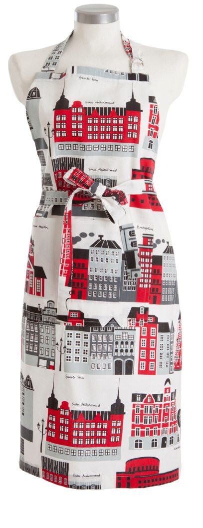 Apron My Stockholm red