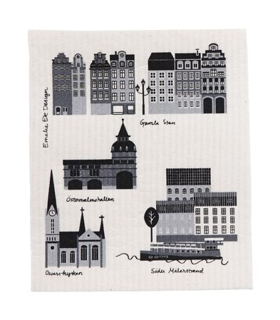 Dishcloth My Stockholm-1