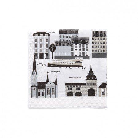 Paper napkin My Stockholm beige
