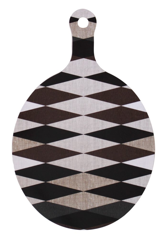 harlequin_cutting board_brown_emelie_ek_design