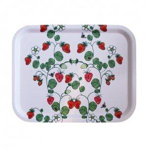 Lite sommarfeeling så här i vintermörkret! Vem älskar inte jordgubbar?!! Strawberries är ett nytt handtecknat mönster av Emelie Ek Design för våren/sommaren 2014! Kommer att finnas som kökshandduk, brickor, skärbräda samt som wettex. Återkommer med foton snart!