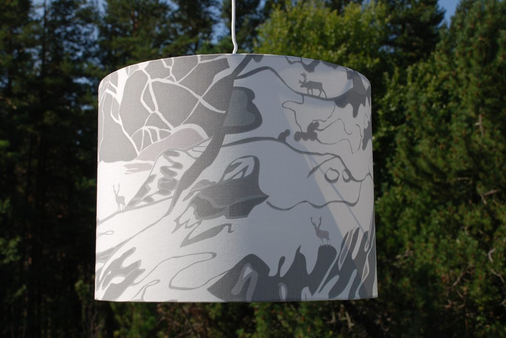 Fjall_lamp_shade_grey_15x40_emelie_ek_design