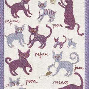 Emelies katter is one of the kitchen towels I have designed for Ekelund. It has illustrations of happy cats and comes in sizes 48 x 70 cm and 35 – 50 cm. Ekelund Weavers was established in 1692.