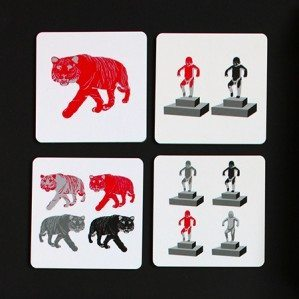 New Houses of Oslo coasters. Made in Sweden.