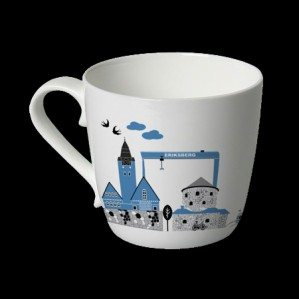 Nyhet! En mugg i Mitt Göteborg-kollektionen i finaste benporslin kommer snart!News! A mug in Mitt Göteborg collection in bone china is coming soon!