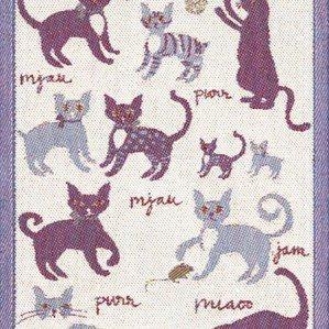 Emelies katter är en av kökshanddukarna jag gjort för Ekelund i vackert linne. Den har motiv av glada katter och finns i storlekarna 48 x 70 cm och  35 – 50 cm. Ekelund Weavers har funnits sedan 1692.Emelies katter is one of the kitchen towels I have designed for Ekelund. It has illustrations of happy cats and comes in sizes 48 x 70 cm and 35 – 50 cm. Ekelund Weavers was established in 1692.